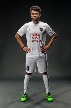 Midfielder Carlos Alvarez - COURTESY SAFC