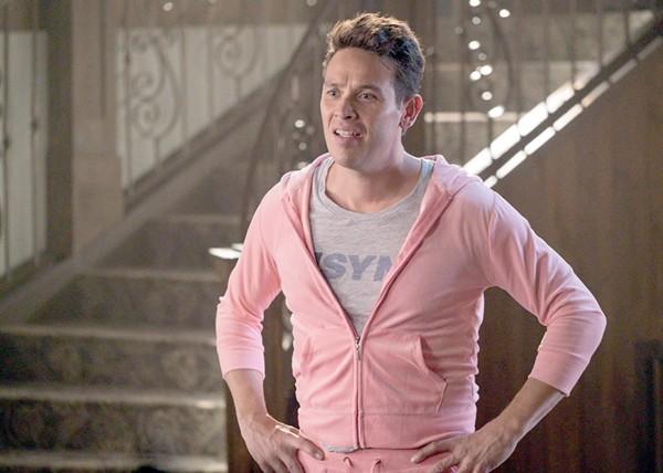 Alejandro in pink. - COURTESY