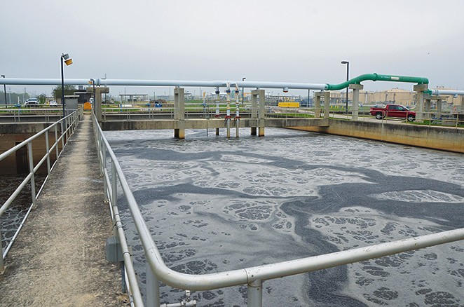 The SAWS Dos Rios Water Recycling Center turns waste into recycled water in just 24 hours.