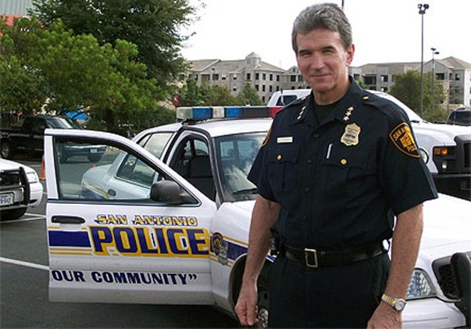 The San Antonio Police Officer's Association wants Chief William McManus fired. - U.S. DEPARTMENT OF JUSTICE