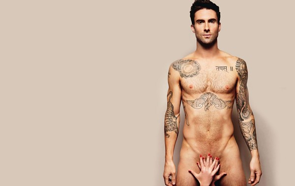 """""""Sex god"""" Adam Levine never fails to disappoint. - COURTESY"""