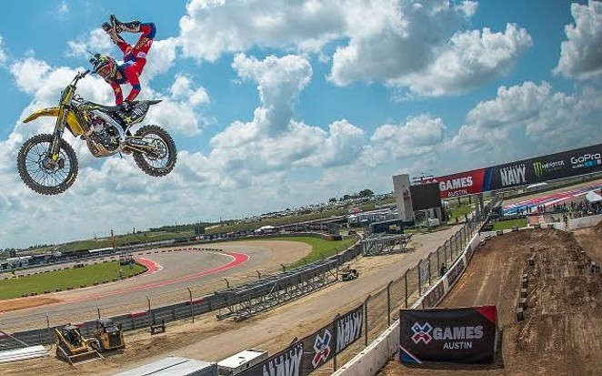 Mike Mason during X Games Austin 2015 - NICK GUISE-SMITH/ESPN IMAGES