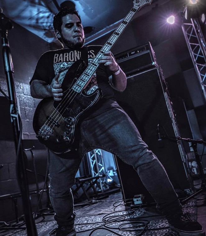 Andrew Salazar of San Antonio's Donella Drive performs live, pre-pandemic. - INSTAGRAM / DONELLADRIVE
