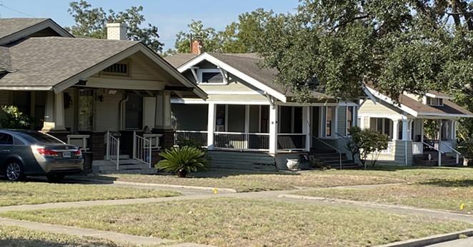 A neighborhood north of Downtown San Antonio. - SANFORD NOWLIN