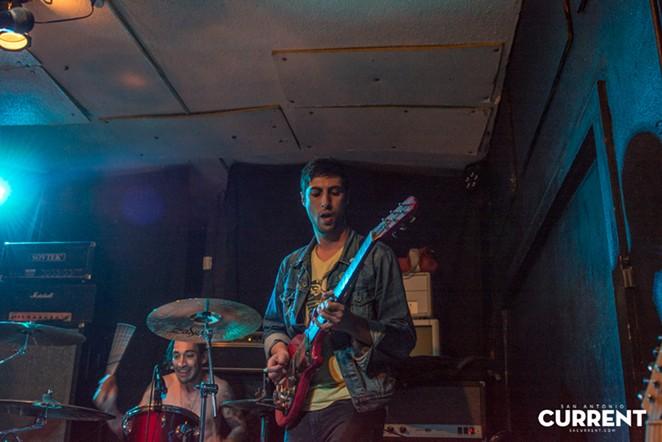 Charlie Cruz (guitar) and Sergio Hernandez (drums) of Make Your Own Maps. - JAIME MONZON