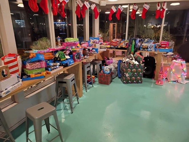 The staff of The Good Kind has been collecting donated toys since the start of the holiday season. - COURTESY OF THE GOOD KIND