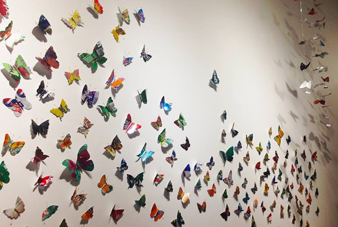 Butterfly Waystation - Anita Valencia - On-Going Project Started in 201 - PHOTO VIA FACEBOOK/ PUBLIC ART SAN ANTONIO