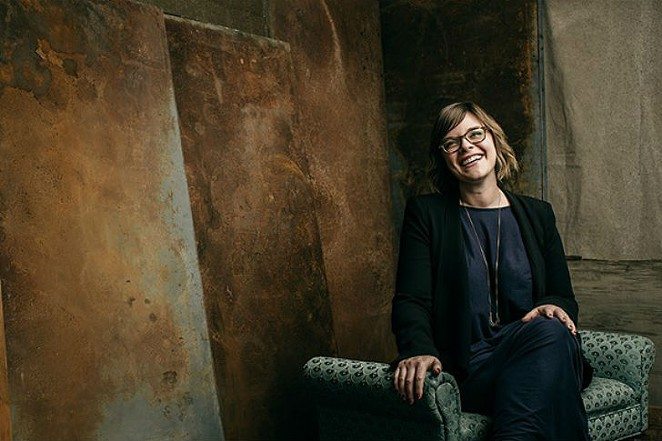 Anna Stothart is moving on from her position as Curator of Modern and Contemporary Art at SAMA to a directorial position at New  York City's Lehmann Maupin Gallery. - JOSH HUSKIN
