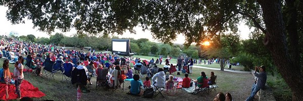 Enjoy a movie outside with San Antonio's Slab Cinema. - SLAB CINEMA