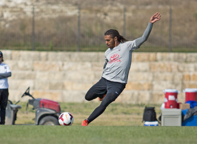 Sebastian Thuriere can probably hit the crossbar. Can you? - COURTESY SAN ANTONIO FC