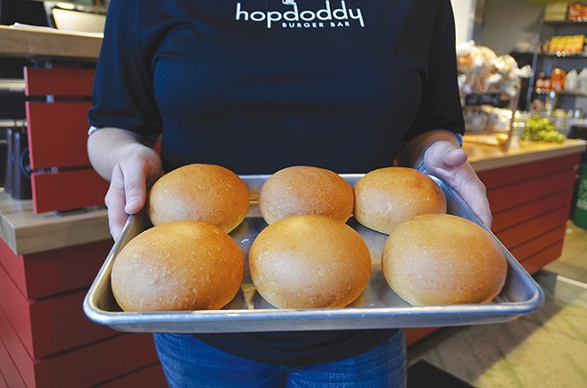 Hopdoddy's here and you'll want to check out these buns.