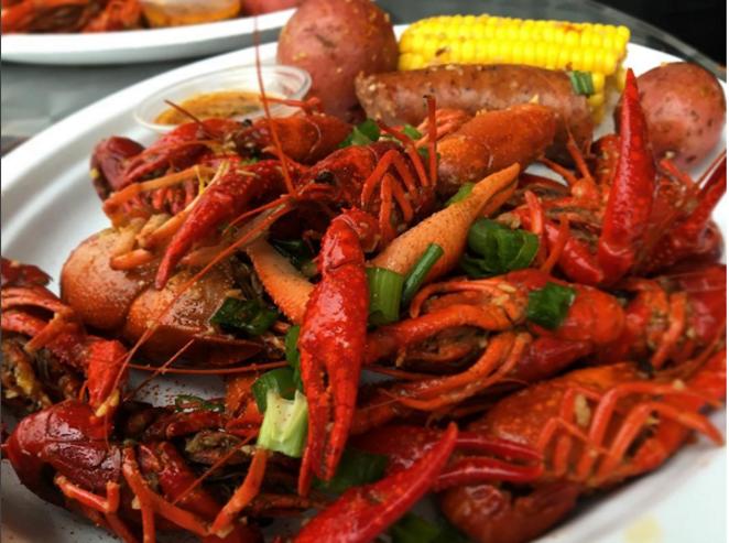 Crawfish like you've never had them before. - @JESSELIZARRARAS/INSTAGRAM