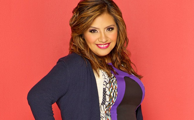 Stand-up comedian Cristela Alonzo will tape a comedy special August 20 at the Empire Theatre. - COURTESY