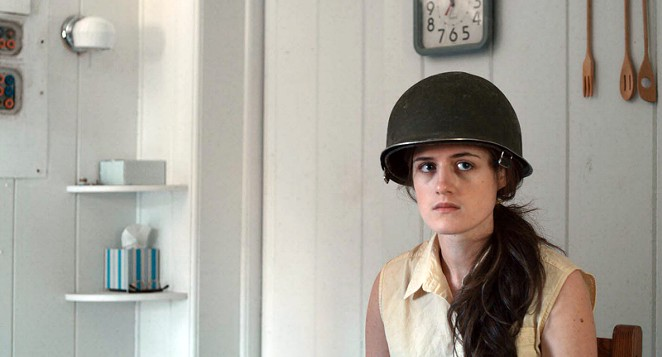 Actress Rachel Povse stars as Caroline in the film The Homefront. - THE AMERICAN STANDARD FILM CO.