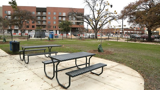 The renovation of Maverick Park, 1000 Broadway, is expected to be completed in early spring 2021. - BEN OLIVO / SA HERON