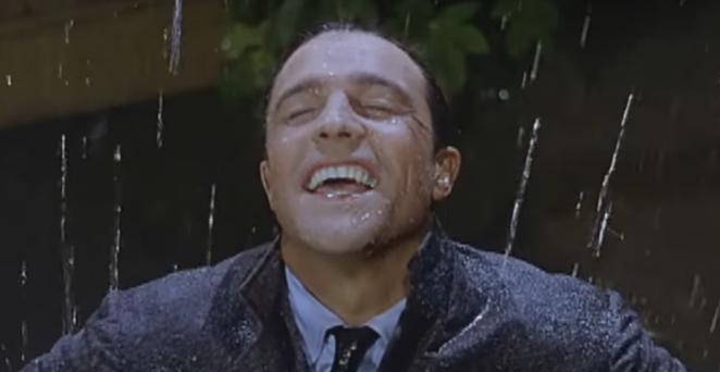 If only it was raining liquor. - YOUTUBE