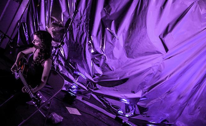 Deradoorian, in purple. - GREG GABRISCH