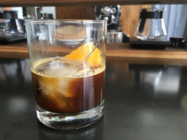 The Coffee Old Fashioned. - JESSICA ELIZARRARAS