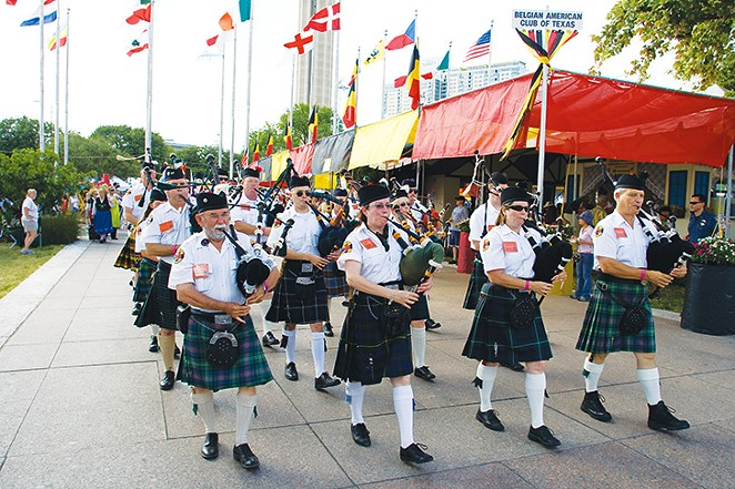 San Antonio Pipes and Drums - CHUCK CRUSE