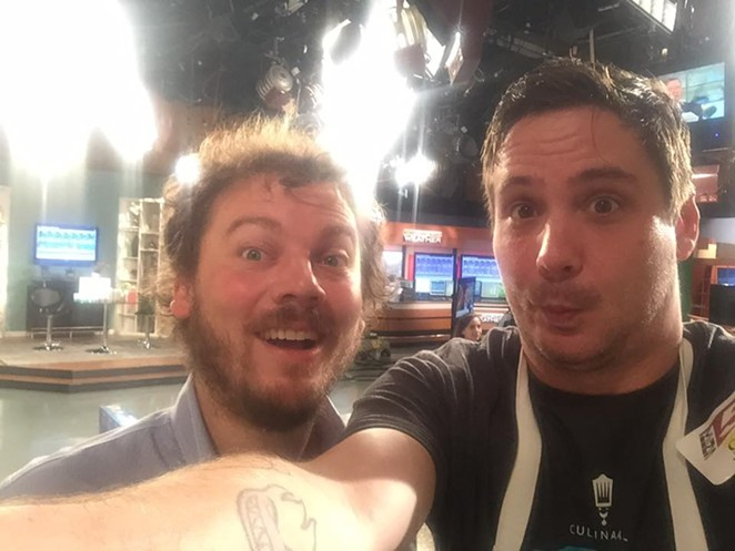 Chefs Justin Parr and Robbie Nowlin - FACEBOOK/HOTWELLSCONSERVANCY/