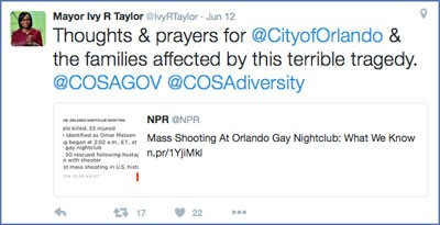 Mayor to Attend Vigil for Orlando Victims | The Daily