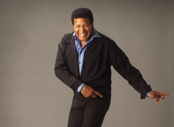 Ernest Evans, aka Chubby Checker, will turn the Alamo City into the Land of 1,000 Dances. - COURTESY