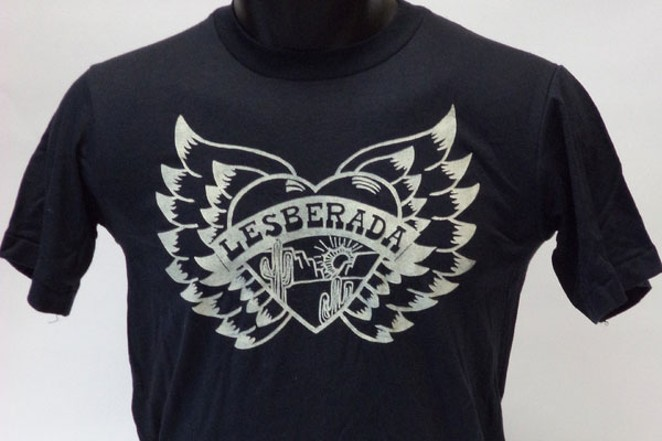 LGBT T-shirts from the UTSA Libraries Special Collections are part of the online exhibit, Wearing Gay History. Shown above, Lesberada T-shirt, undated. (Photos: UTSA Libraries Special Collections)