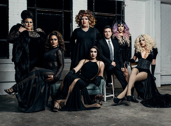 REY LOPEZ AND HIS REY LOPEZ ENTERTAINMENT SHOWGIRLS PHOTOGRAPHED BY JOSH HUSKIN
