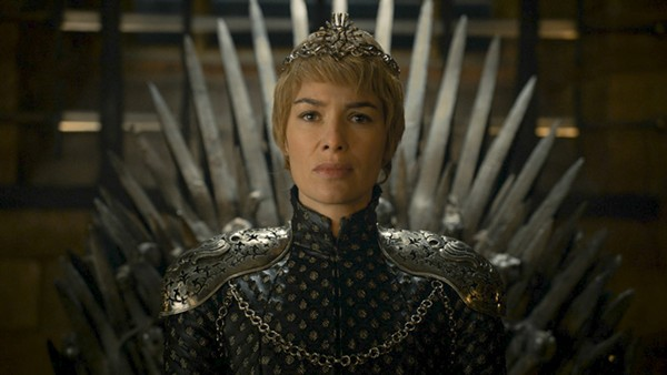Cersei resumes the Iron Throne. - HBO