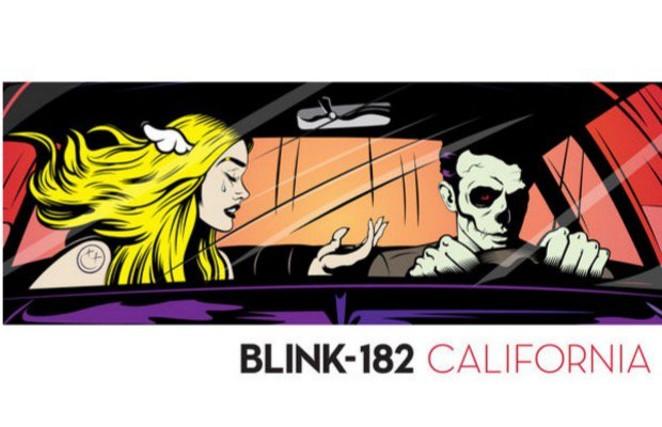 Blink-182's seventh effort California - COURTESY