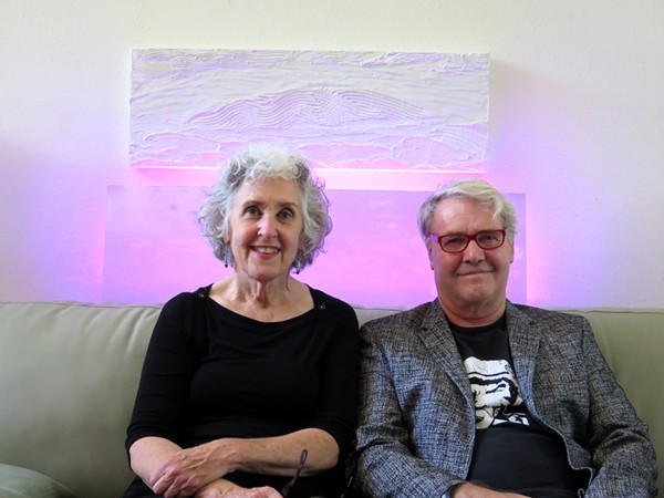 FROM LEFT: JOAN FREDERICK AND GARY SWEENEY