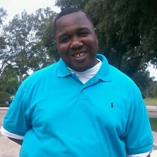37-year-old Alton Sterling, who was fatally shot by police on July 5.