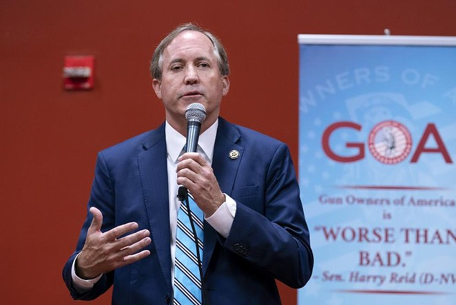 Attorney General Ken Paxton is among several Texas Republicans who have criticized major technology and social media companies in how they responded to accounts that sowed misinformation about the 2020 election. - BOB DAEMMRICH / THE TEXAS TRIBUNE