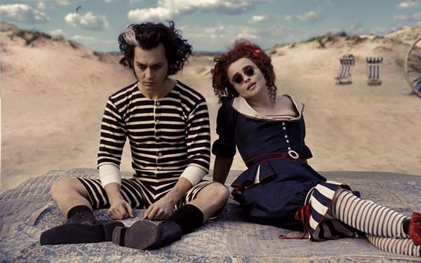 A still from Tim Burton's 'Sweeney Todd' - YOUTUBE SCREENSHOT