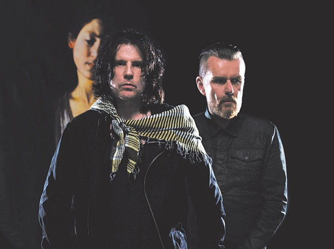 THE CULT'S IAN ASTBURY AND BILLY DUFFY PHOTOGRAPHED BY TIM CADIENTE