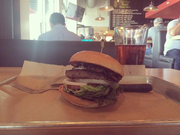 Hopdoddy's Magic Shroom Burger
