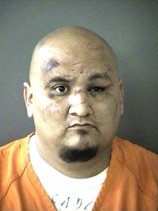 Ruben Reyes is a former hitman for the Texas Mexican Mafia. - BEXAR COUNTY JAIL