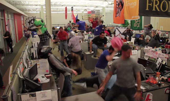 Remember those Harlem Shake videos? Yeah, Rackspace did one of those, too...  - VIA YOUTUBE