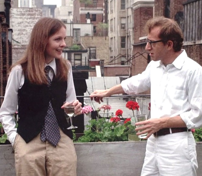 The McNay presents Woody Allen's Annie Hall in an installation of its Beach & Boardwalk Series. - VIA FACEBOOK.COM/MCNAYART