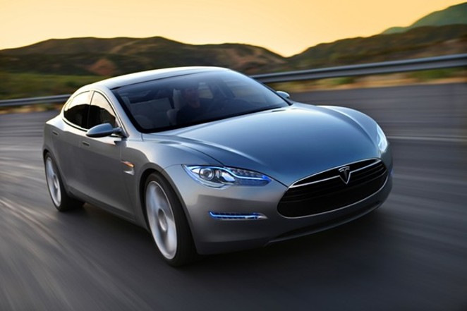 Tesla Motors Model S - COURTESY