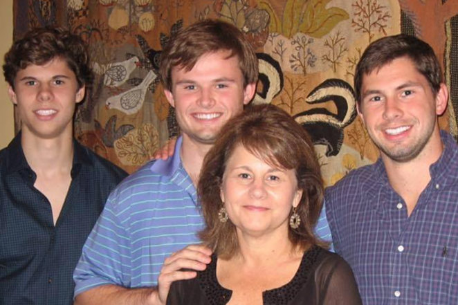 David Molak, far left, committed suicide on January 4 after suffering online harassment. - DAVID'S LEGACY   GOFUNDME