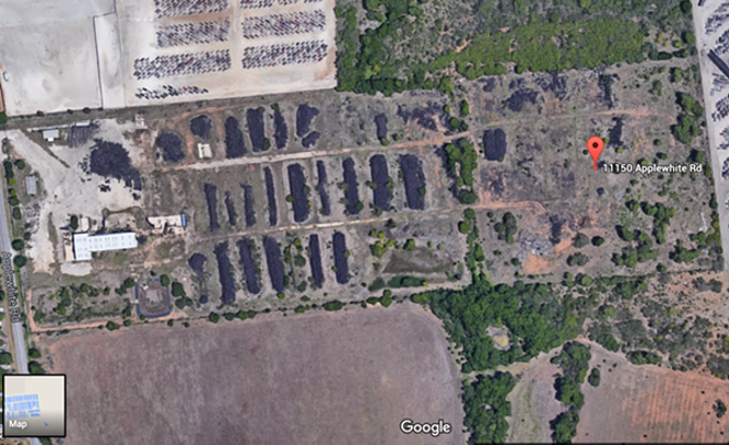 State Rep. John Lujan says he once helped extinguish a tire fire at the abandoned Safe Tire Disposal site - GOOGLE MAPS | SCREENSHOT