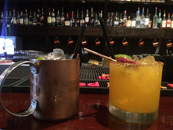 The Reservoir's Tennessee Mule and Mango Moores Rita