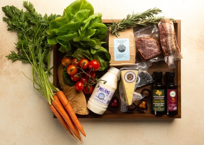 The Pearl Farmers Market Filet Mignon for Two box would make an avid home cook swoon. - COURTESY PEARL