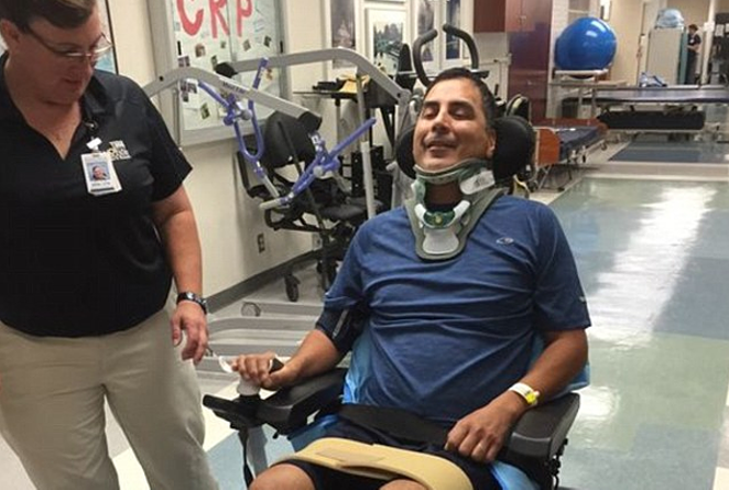 Doctors recommended surgery after Roger Carlos' encounter with San Antonio police, during which complications led to his near paralysis.