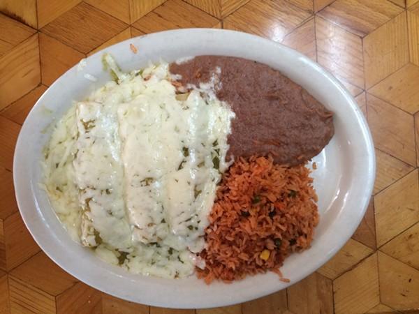 The Enchiladas Verdes