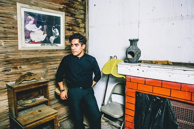 Alan Palomo (Neon Indian) plotting to maximize the chill. - COURTESY