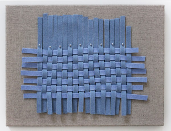 JESSICA HALONEN, REMNANT (BLUE WEAVE)