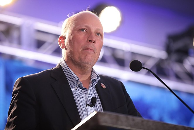 U.S. Rep. Chip Roy speaks at the Young Americans for Liberty Convention in Austin. - GAGE SKIDMORE