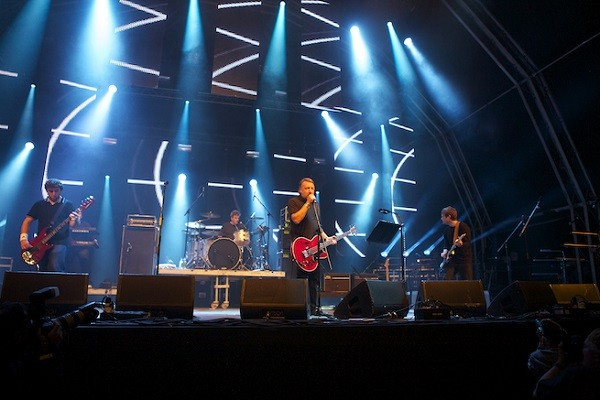 Peter Hook and The Light in action. - COURTESY